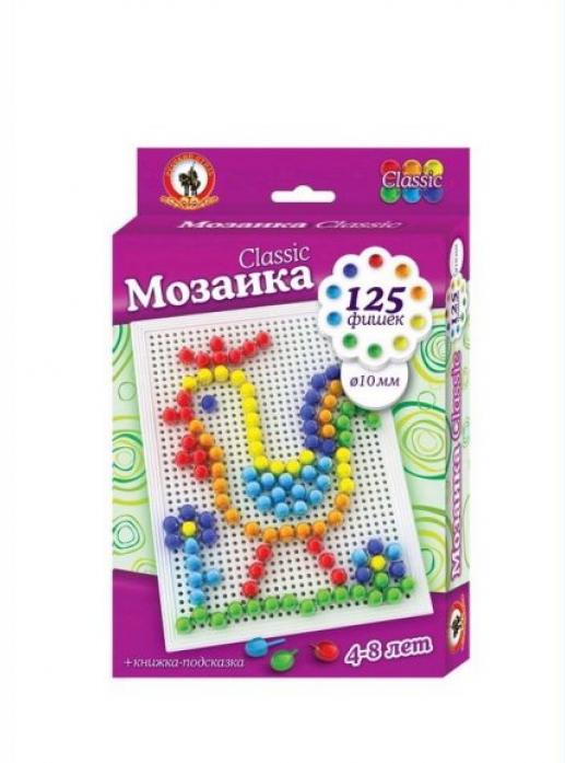 Мозаика Русский Стиль Classic Петушок 125 эл D 10 мм 3974