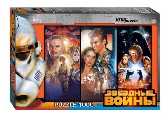 Пазл Степ Звездные войны 1000 элементов 79607