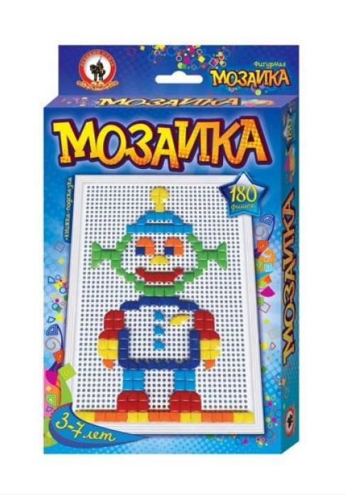 Мозаика Русский Стиль фигурная Пришелец 180 эл 3952