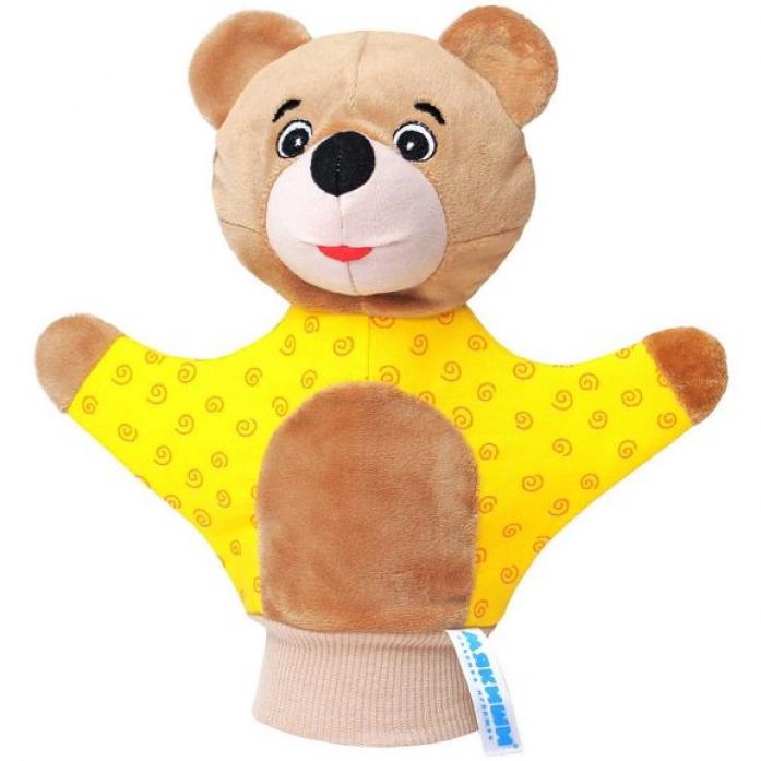 Игрушка-рукавичка Мякиши Мякиши Мишка 122