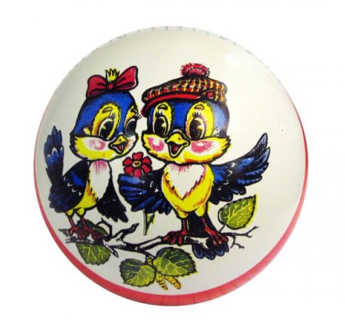 Мяч Мячи-Чебоксары D150 с рисунком лак. с-52ЛП