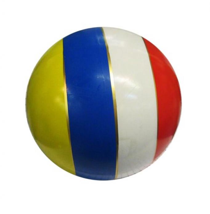 Мяч Мячи-Чебоксары D200 с полосой лак. с-23ЛП