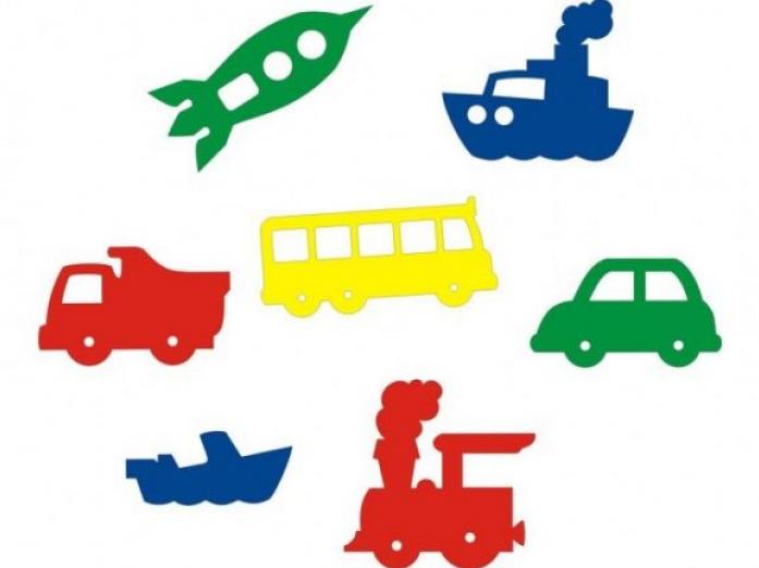 Набор Флексика Мир транспорта 55391