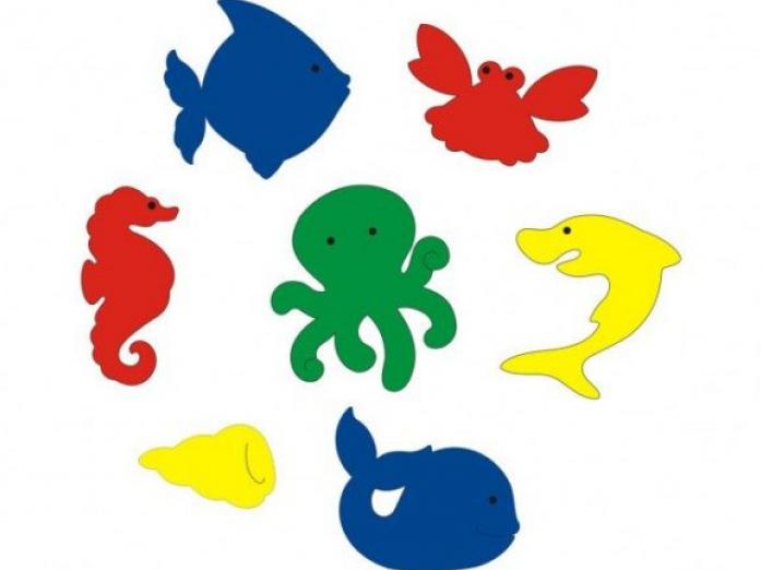 Набор Флексика Подводный мир 55390