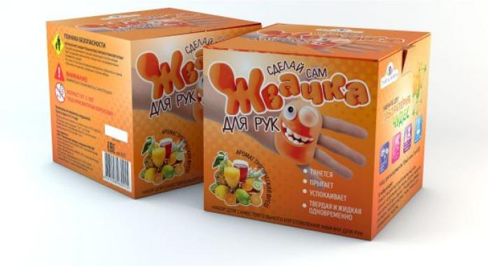 Набор Инновации для детей Юный Химик Жвачка для рук Тропический фреш 823 Артикул 313770 купить в интернет-магазине Встройка-Соло