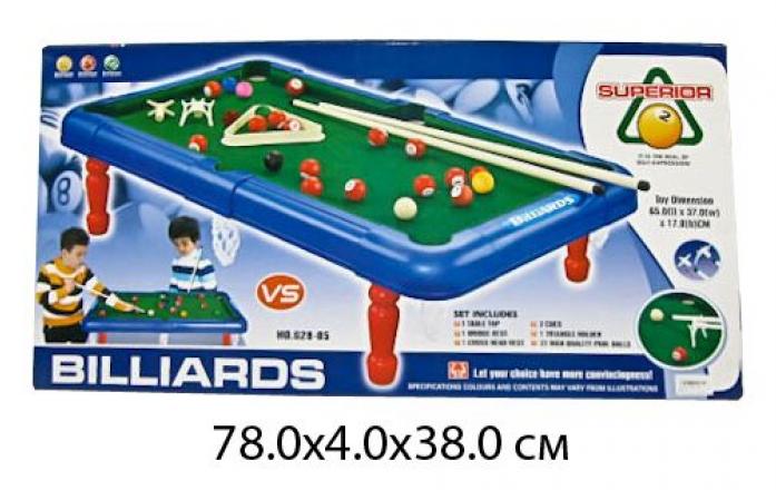 Настольная игра Shantou Gepai Бильярд 78*4*38 см 628-05