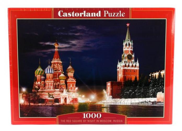 Пазлы Castorland Красная площадь, Москва C-101788