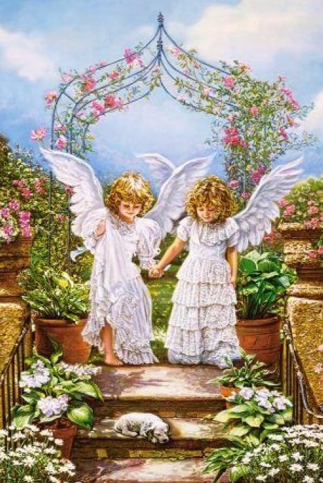 Пазлы Castorland Друзья Ангелы C-103225