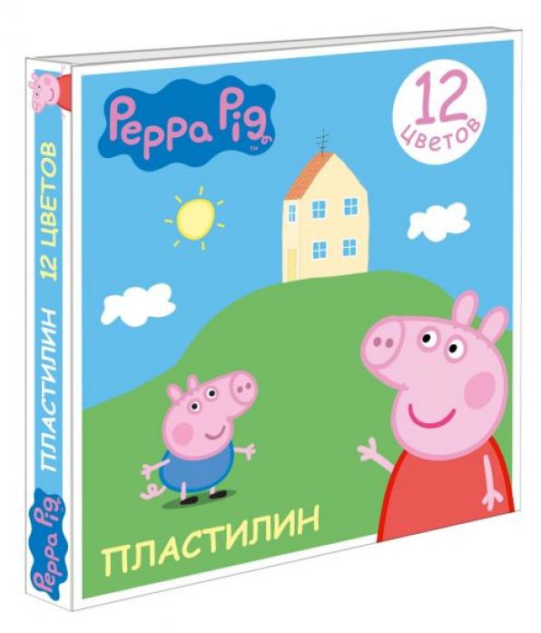 Пластилин Росмэн Свинка Пеппа 12 цв 29604