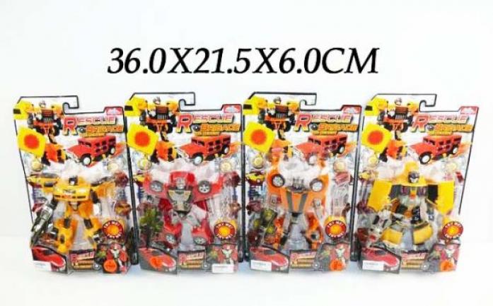 Робот-трансформер Shantou Gepai 4 вида 3888