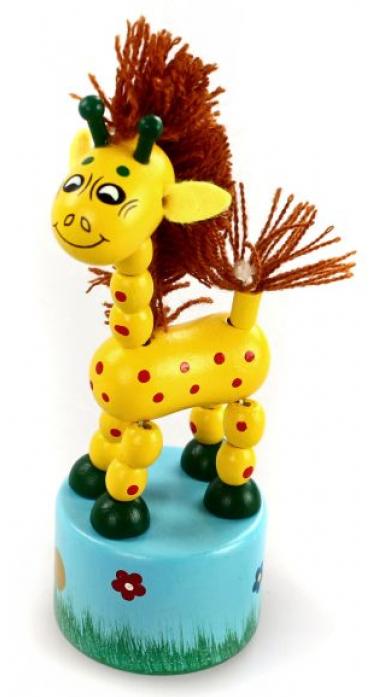 Игрушка Mapacha Танцующий жираф с гривой 76442