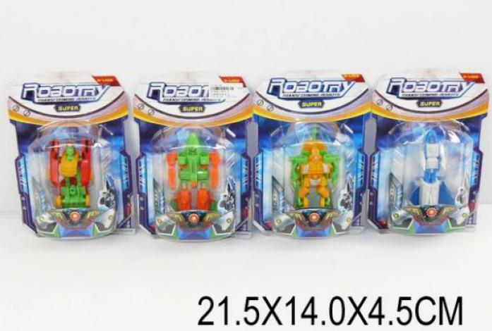 Трансформер-робот Shantou Gepai 4 вида 907-7