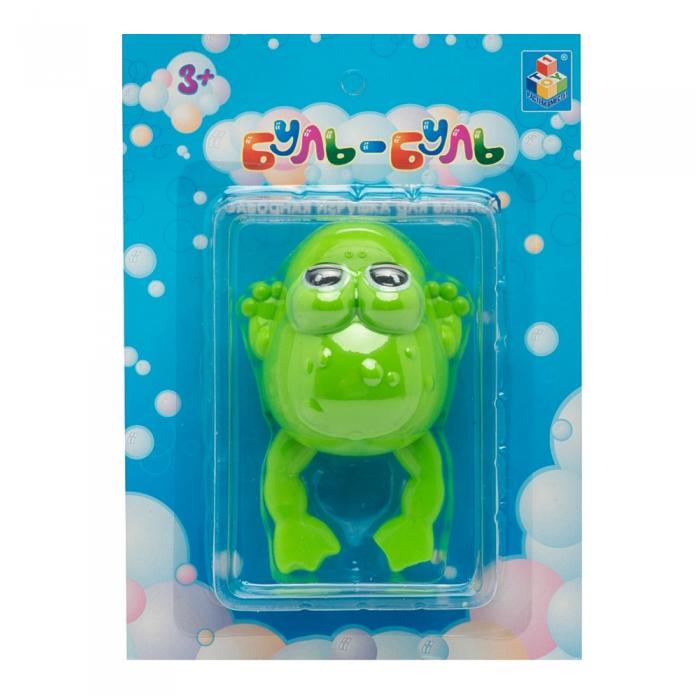 Игрушка для ванной 1toy Буль-Буль - Лягушка Т57410