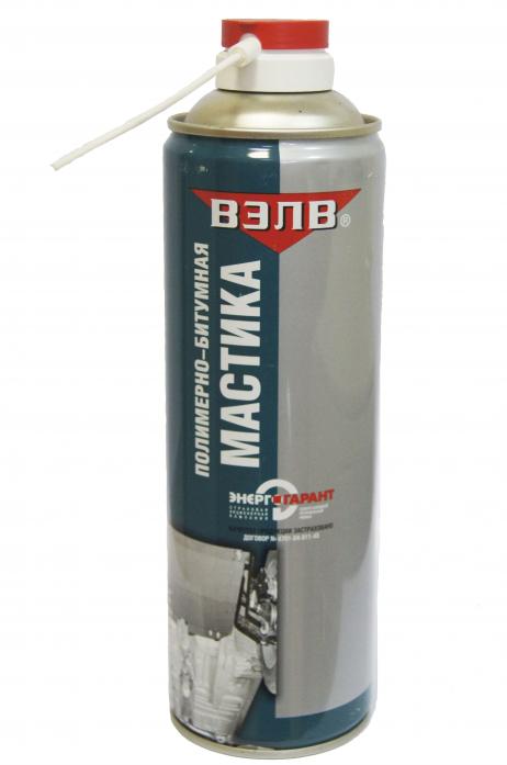 Полимерно-битумная мастика - вэлв лак белый матовый для кирпича