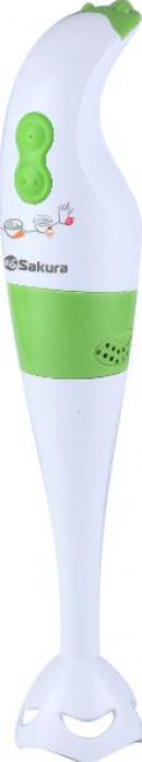 Блендер погружной Sakura SA-6200G бел/зел