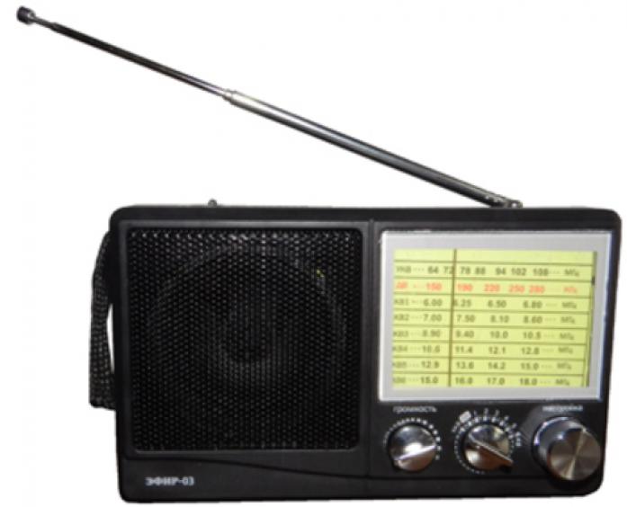 Радиоприемник СИГНАЛ Эфир-03