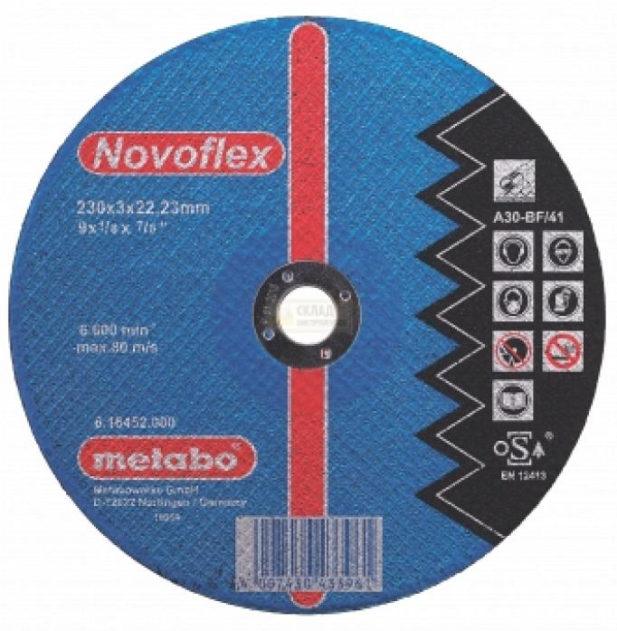 Круг отрезной по металлу Metabo SP-Novoflex 617131000