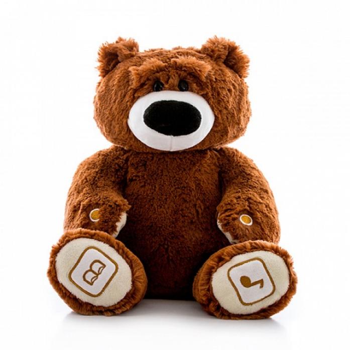 Игрушка интерактивная Luv'n Learn медведь коричневый 20020L