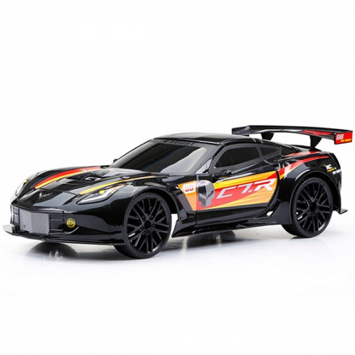 Машинка New Bright Corvette C7R (Черный) 1222-1