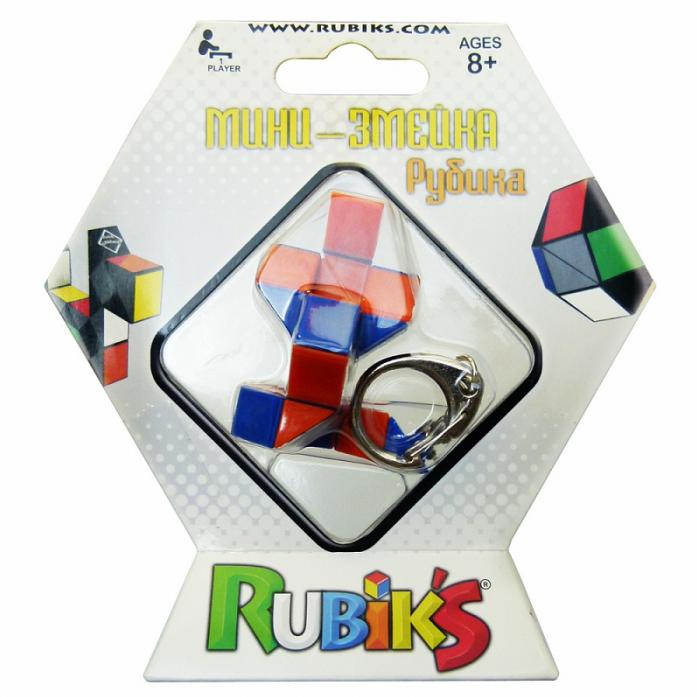 Головоломка Rubik's Брелок Змейка 24 элемента КР72128