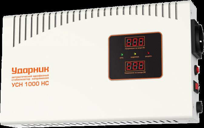 Стабилизатор напряжения Ударник УСН 1000 HC 39445