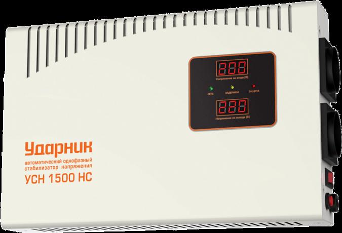 Стабилизатор напряжения Ударник УСН 1500 HC 39447