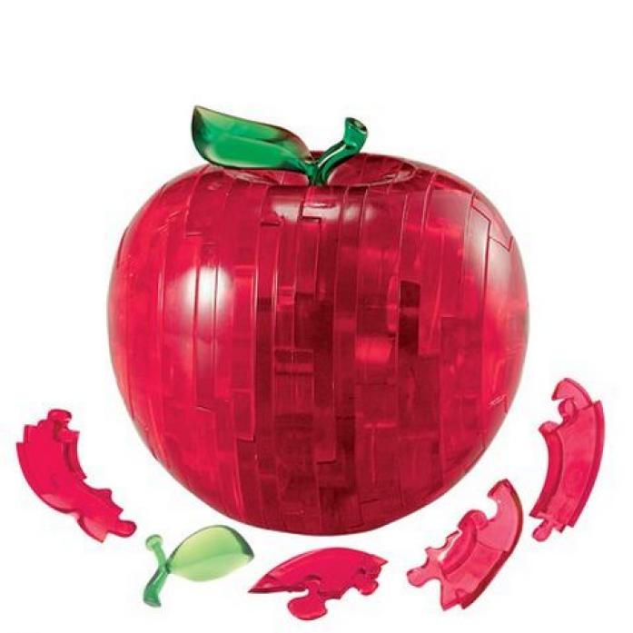 Головоломка Crystal Puzzle Яблоко красное 90005
