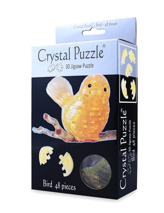 Головоломка Crystal Puzzle Птичка 90125
