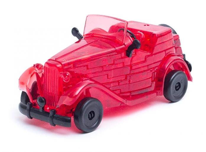 Головоломка Crystal Puzzle Автомобиль красный 90331