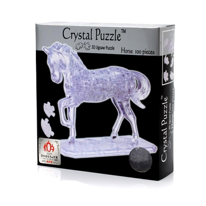 Головоломка Crystal Puzzle Лошадь неоновая 91001