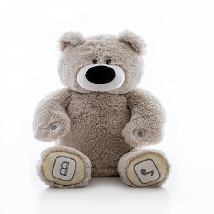 Игрушка интерактивная Luv'n Learn медведь серый 20010L