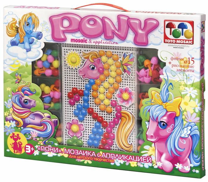 Мозаика ToysUnion Пони 00-180