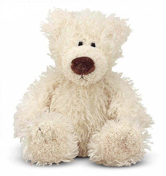 Мягкая игрушка Melissa&Doug Белый Мишка 13см 7730