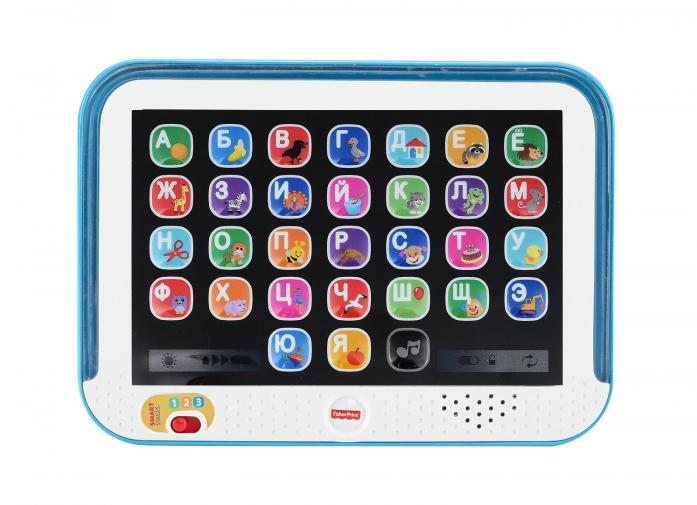 Обучающий планшет Fisher-Price с технологией Smart Stages DHY54