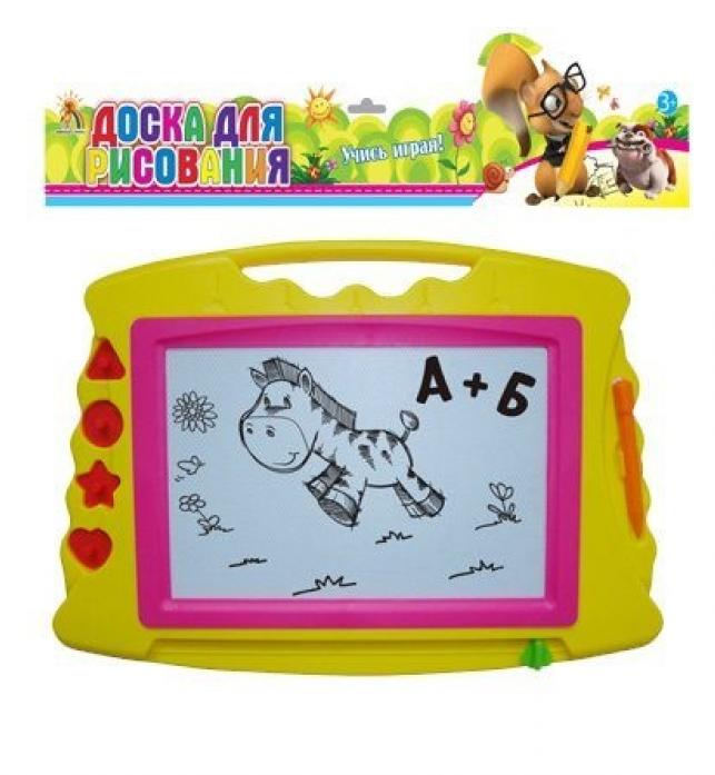 Доска для рисования Shantou Gepai Учись играя! магнитная GB218R