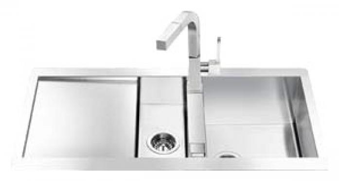 Кухонная мойка Smeg LQR100F-2