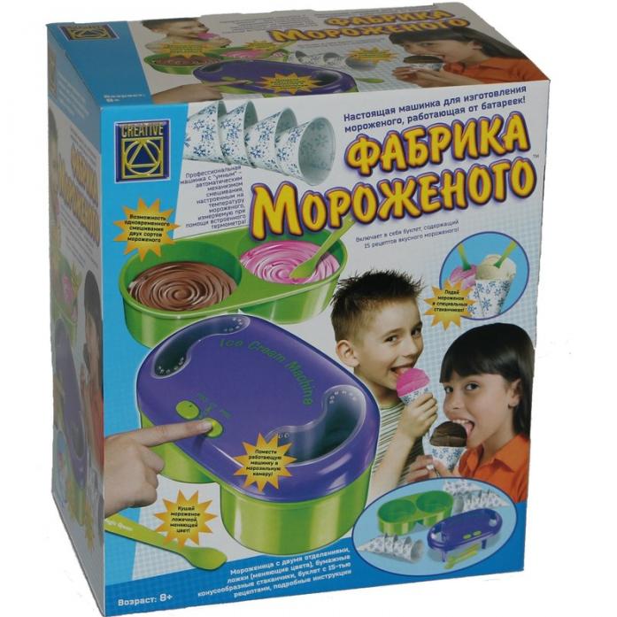 Игровой набор Creative Фабрика мороженого 5392