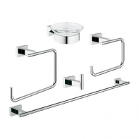 Комплект GROHE Essentials Cube 40758001 хром