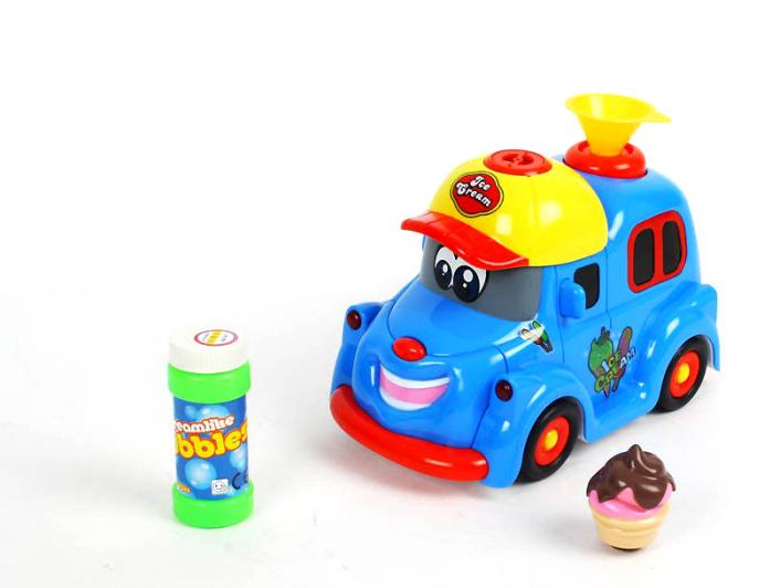 Игрушка Bairun Автомобиль пускающий мыльные пузыри Y2421161