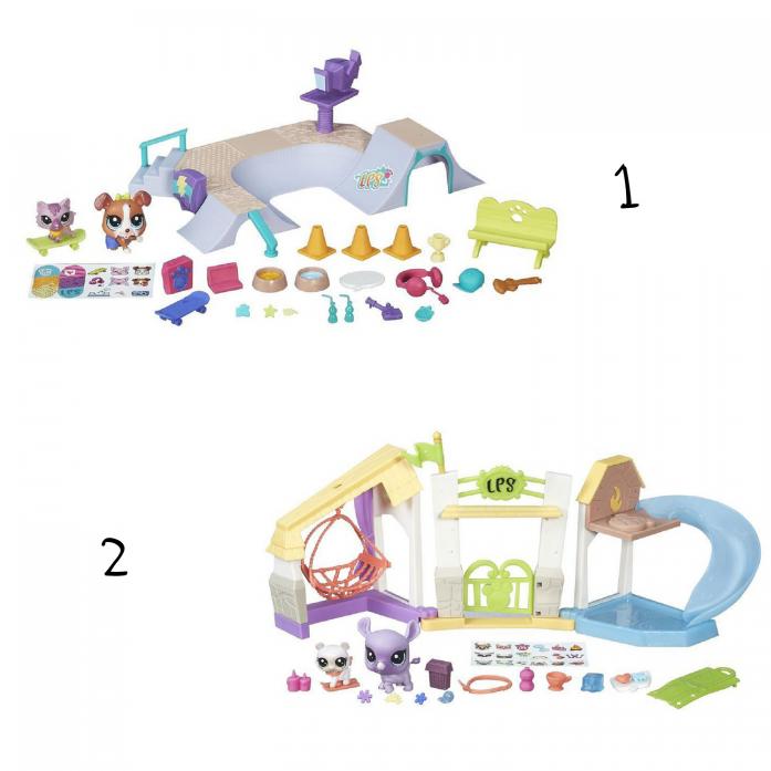 Игровой набор Littlest Pet Shop Городские сценки B5565