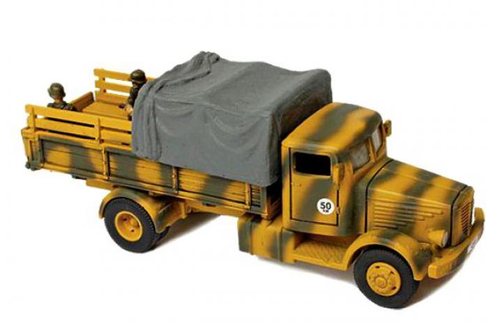 Unimax Коллекционная модель - Грузовик Bussing-NAG Type 4500A 1944, Германия, 1:72 купить в интернет-магазине, цена