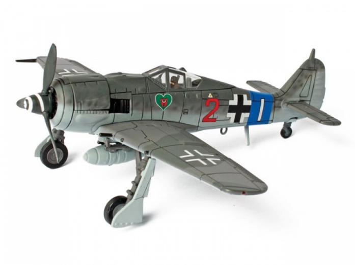 Коллекционная модель Unimax Истребитель FW 190A8 JG 54 1944 Германия 85077
