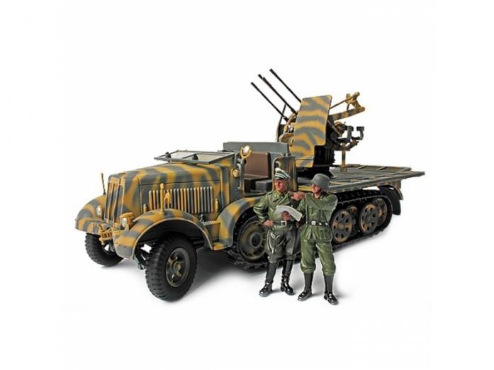 Коллекционная модель Unimax Легкое зенитное орудие Sd. Kfz. 7/1 mit 2 cm Flakvierling 38 1943 Германия 80069