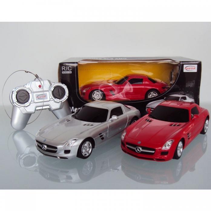 Машинка на радиоуправлении Rastar Mercedes SLS AMG 40100