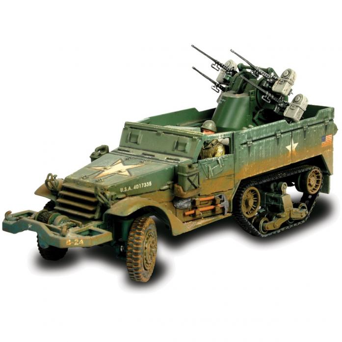 Коллекционная модель Unimax Многоствольный самоходный пулемет M16 США 81005