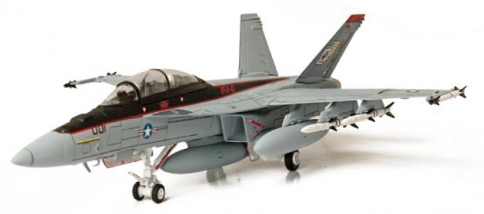 Коллекционная модель Unimax Истребитель F/A-18F Super Hornet Нил США 85102