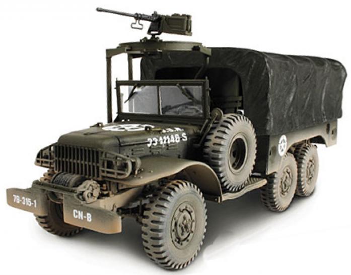Коллекционная модель Unimax Грузовик 6X6 1.5 Ton Cargo Truck США 81022