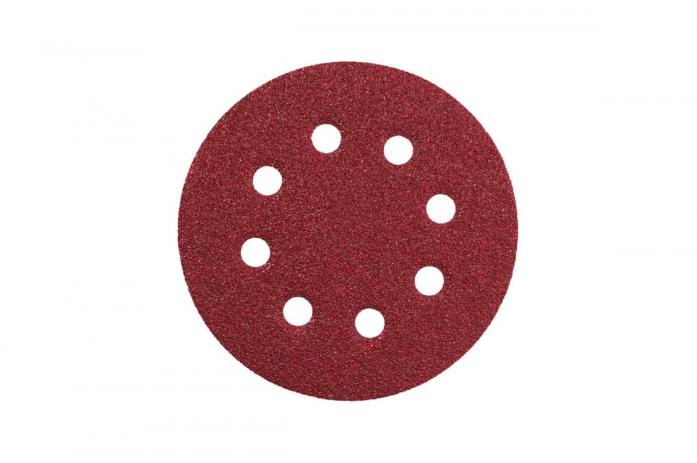 Круг шлифовальный Metabo 125мм 25 шт Р400 631597000