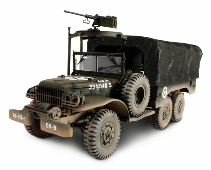 Коллекционная модель Unimax Грузовик 6X6 1.5 тонн 1945 США 81012