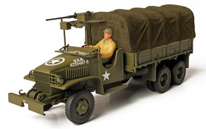 Коллекционная модель Unimax GMC 2.5 тонный грузовик Арденны 1944 США 85099